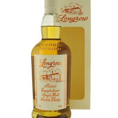 Longrow Peated single malt scotch whisky