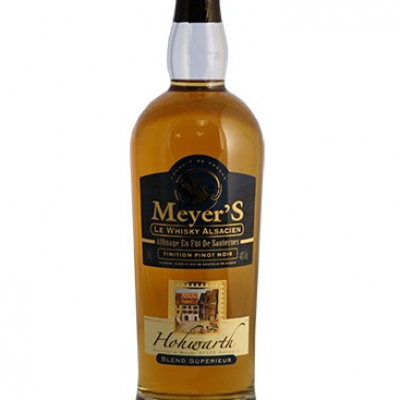 Whisky France Meyers blend finition pinot noir