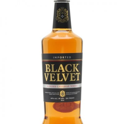 black velvet whisky canadien