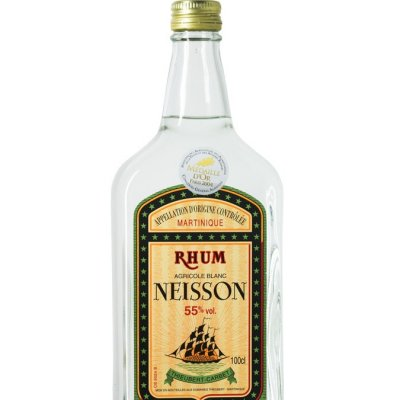 rhum blanc neisson martinique