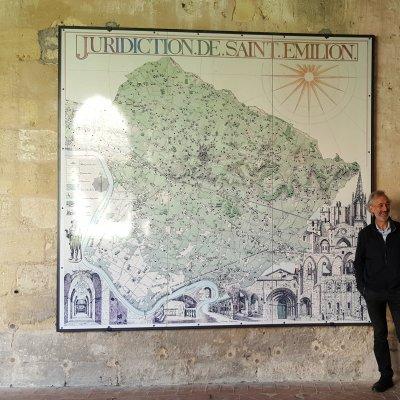 Caviste en visite à Saint Emilion